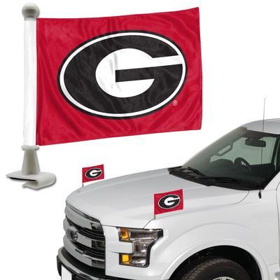 Georgia Ambassador Car Flags