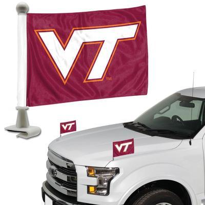 Virginia Tech Ambassador Car Flags