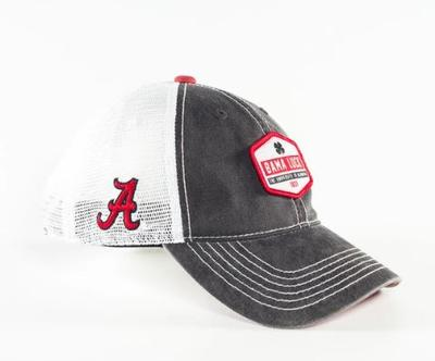 Alabama Black Clover Bama Luck Mesh Hat