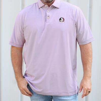 Florida State Men's Peter Millar Jubilee Stripe Jersey Polo