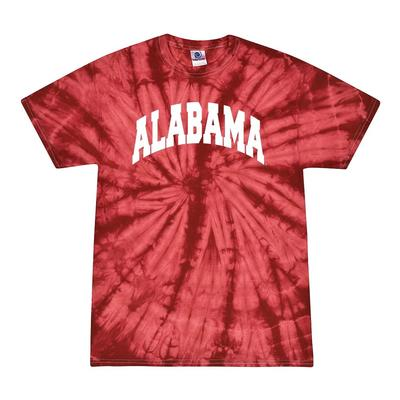 Alabama Men's Tie Dye Short Sleeve Tee