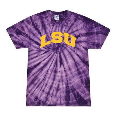 LSU Men's Tie Dye Short Sleeve Tee