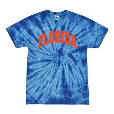 Florida Men's Tie Dye Short Sleeve Tee