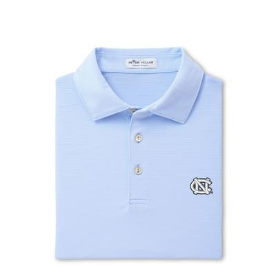 UNC Men's Peter Millar Jubilee Stripe Jersey Polo