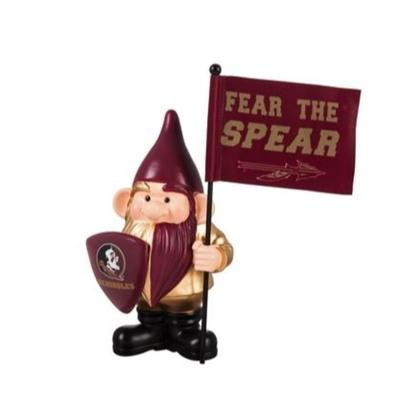 Florida State Garden Gnome with Flag