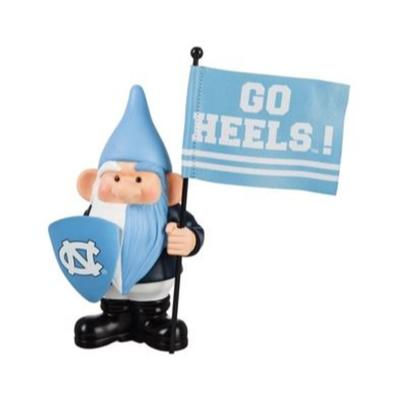 UNC Garden Gnome with Flag