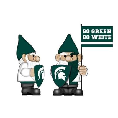 Michigan State Garden Gnome with Flag