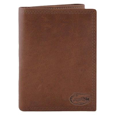 Florida Zep-Pro Leather Trifold Wallet