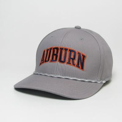 Auburn Legacy Men's Mid-Pro Arch Rope Adjustable Hat
