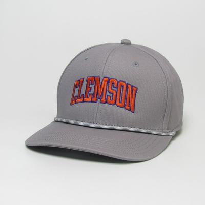 Clemson Legacy Men's Mid-Pro Arch Rope Adjustable Hat