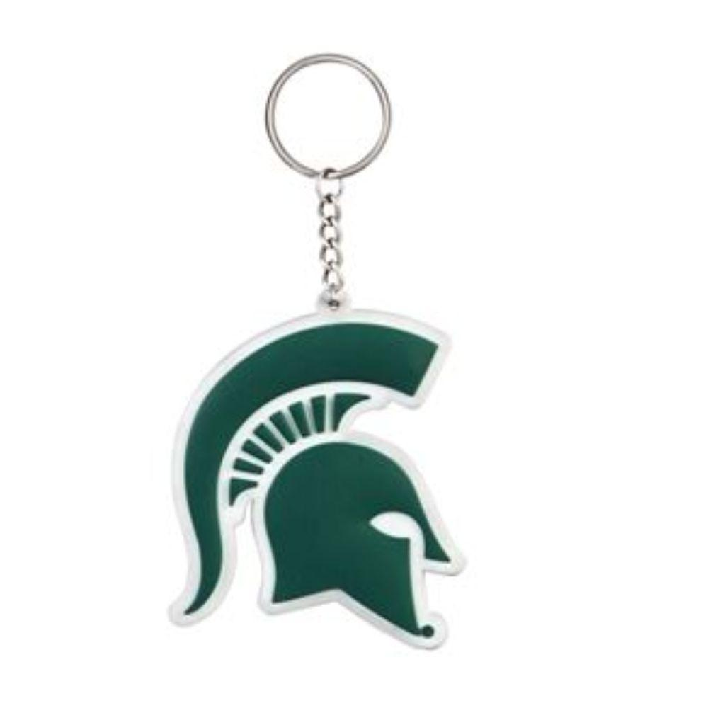 Michigan State Pvc Key Chain