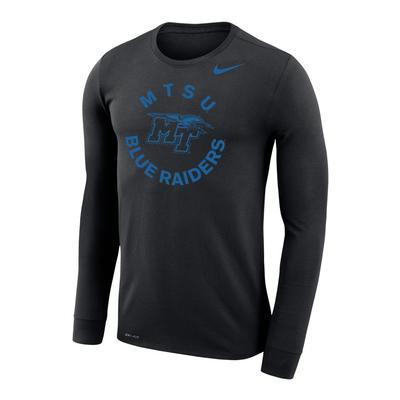 MTSU Nike Men's Legend Lift Long Sleeve Tee