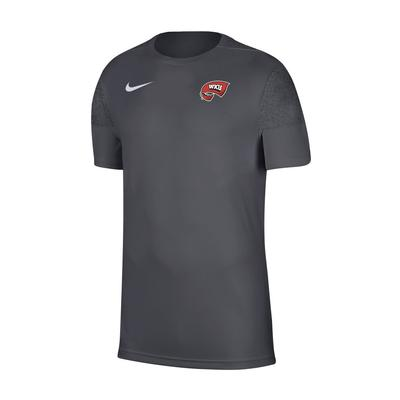 Western Kentucky Nike Men's Coach UV Short Sleeve Top