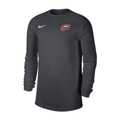 Western Kentucky Nike Men's Coach UV Long Sleeve Top