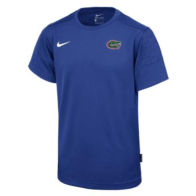 Florida Nike Youth Coaches Short Sleeve Dri-Fit Tee