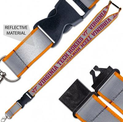 Virginia Tech Reflective Lanyard