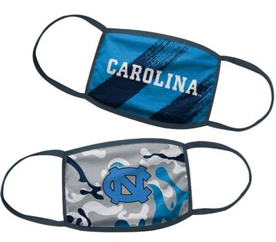 UNC YOUTH Face Mask (2 pk)