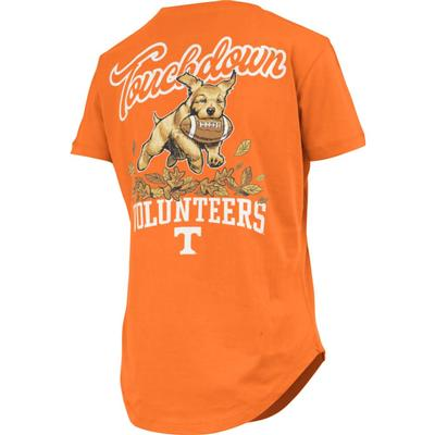 Tennessee Pressbox Women's Rustler Curved Hem Short Sleeve Tee