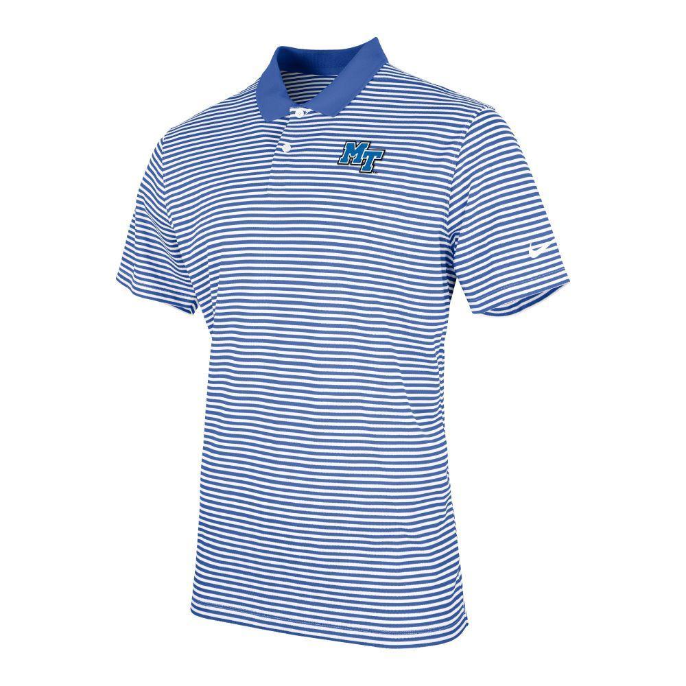 Mtsu Nike Men's Victory Stripe Polo