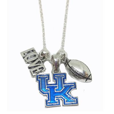 Kentucky Double Down Necklace