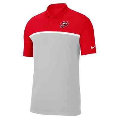 Western Kentucky Nike Men's Victory Colorblock Polo