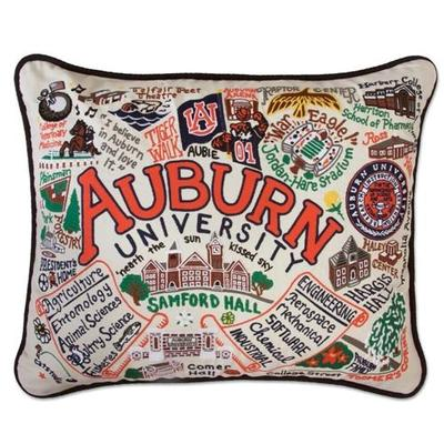 Auburn Hand Embroidered Pillow