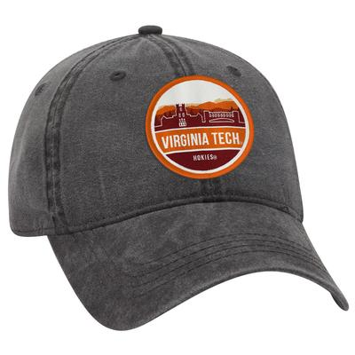 Virginia Tech Uscape Scenic Vintage Washed Adjustable Hat