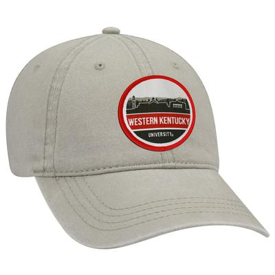 Western Kentucky Uscape Scenic Vintage Washed Adjustable Hat