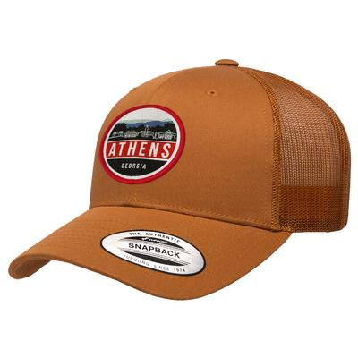 Athens Uscape Scenic Patch Trucker Adjustable Hat