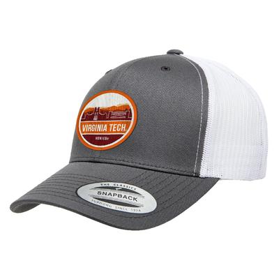 Virginia Tech Uscape Scenic Patch Trucker Adjustable Hat