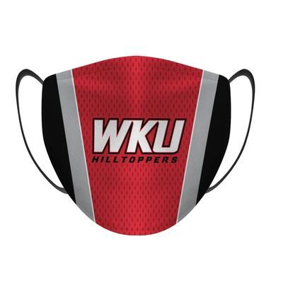 Western Kentucky Rock Em Jersey Face Mask