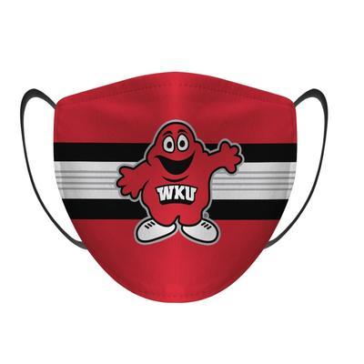 Western Kentucky Rock Em Big Red Face Mask