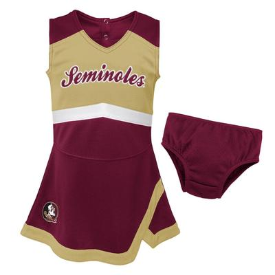 Florida State Gen2 Girl's Cheer Dress with Bloomers