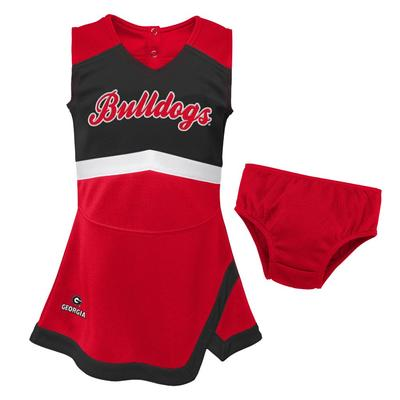 Georgia Gen2 Girl's Cheer Dress with Bloomers