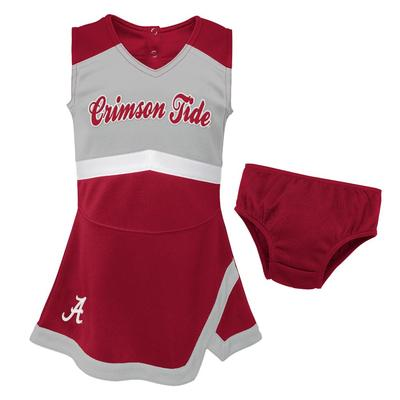 Alabama Gen2 Toddler Cheer Dress with Bloomers