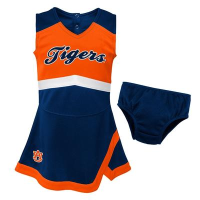Auburn Gen2 Toddler Cheer Dress with Bloomers