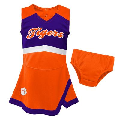 Clemson Gen2 Toddler Cheer Dress with Bloomers