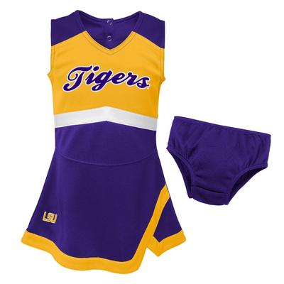 LSU Gen2 Toddler Cheer Dress with Bloomers