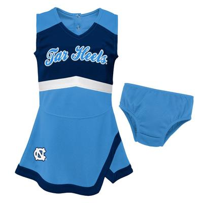 UNC Gen2 Toddler Cheer Dress with Bloomers