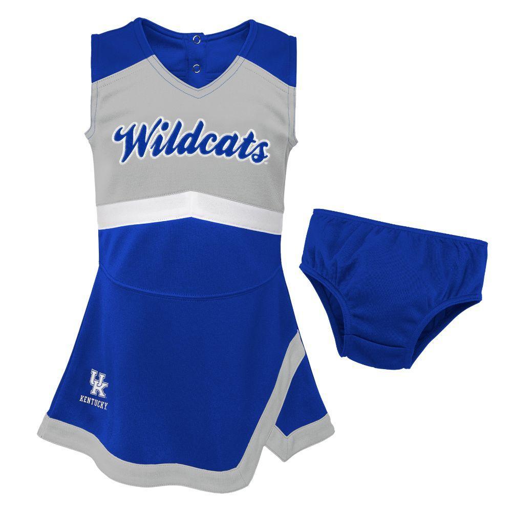 Kentucky Gen2 Toddler Cheer Dress With Bloomers