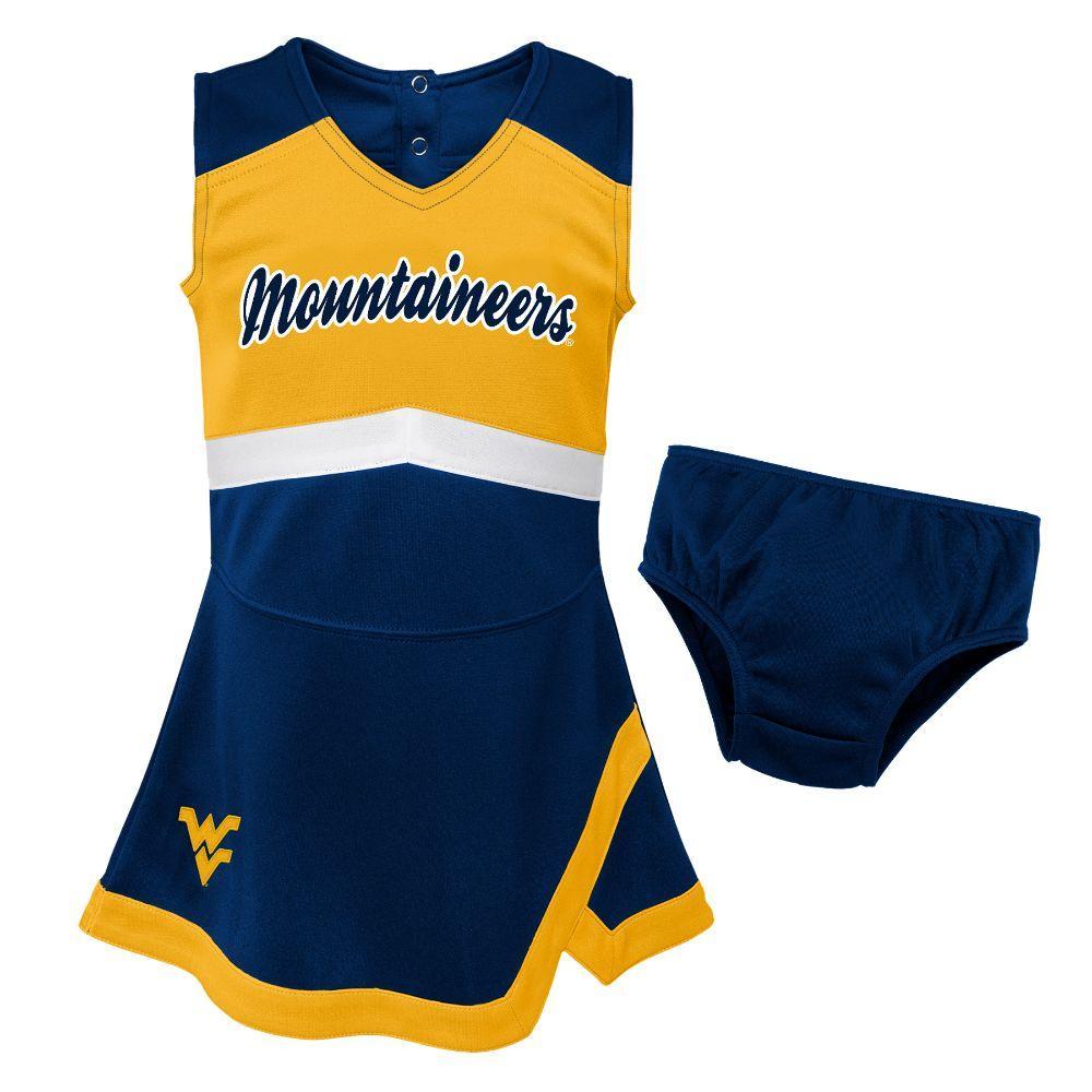 West Virginia Gen2 Toddler Cheer Dress With Bloomers