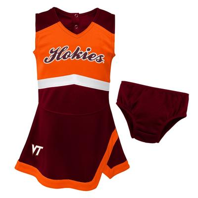 Virginia Tech Gen2 Toddler Cheer Dress with Bloomers