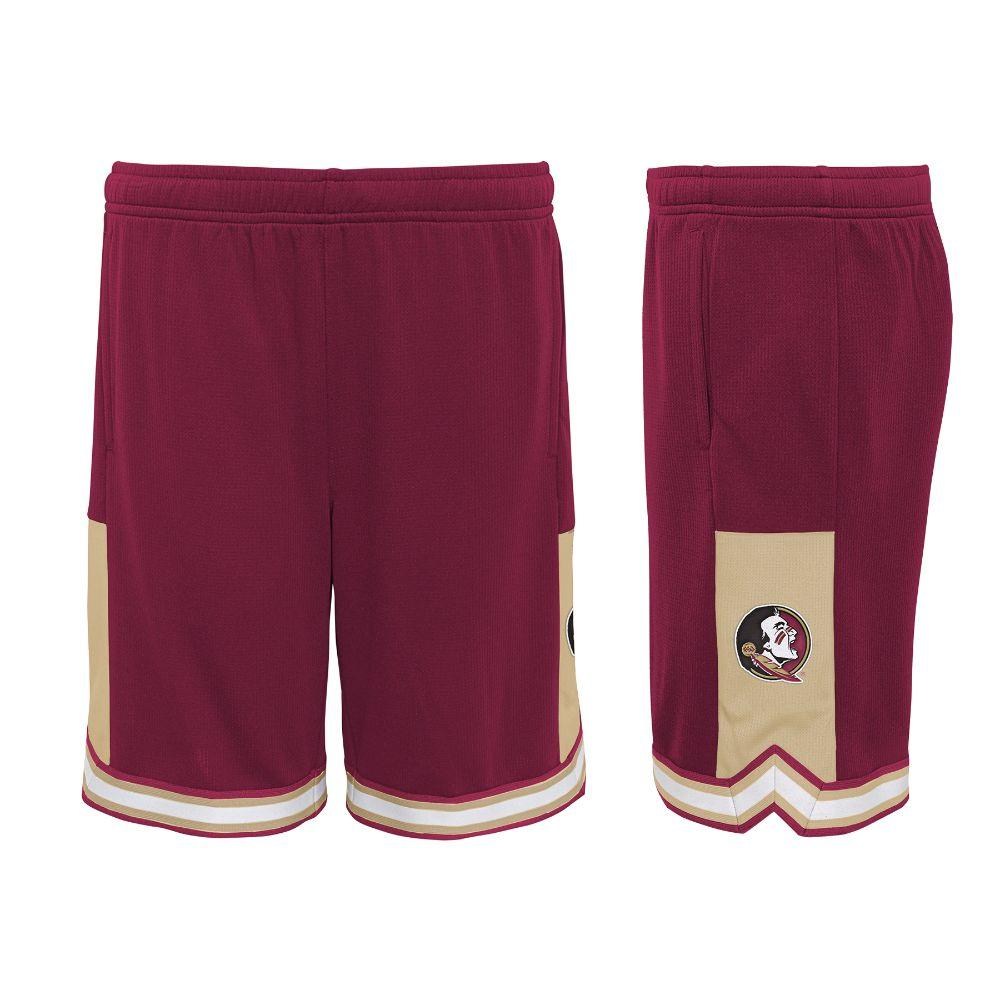 Florida State Gen2 Boy's Stated Poly Mesh Shorts