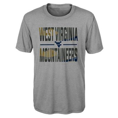 West Virginia Gen2 Boy's Ground Control Short Sleeve Tee