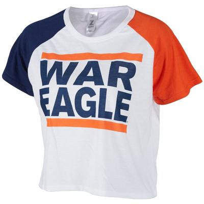Auburn Zoozatz Women's Run Crop Tee