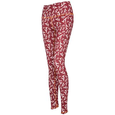 Virginia Tech Women's Zoozatz Stacked Mascot Leggings