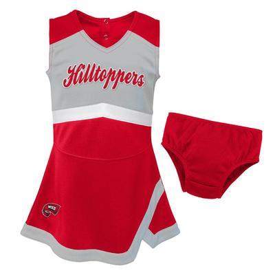 Western Kentucky Gen2 Toddler Cheer Dress with Bloomer