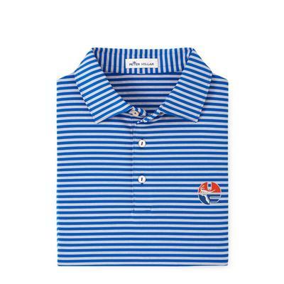 Florida Peter Millar Vault Mills Stripe Jersey Polo