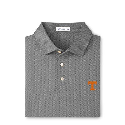Tennessee Peter Millar Jamm Geo Printed Polo