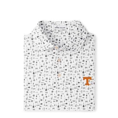 Tennessee Peter Millar Landmark Printed Polo